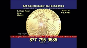 Global Monetary Reserve TV Spot, '2016 American Eagle Gold Coin' - Thumbnail 1