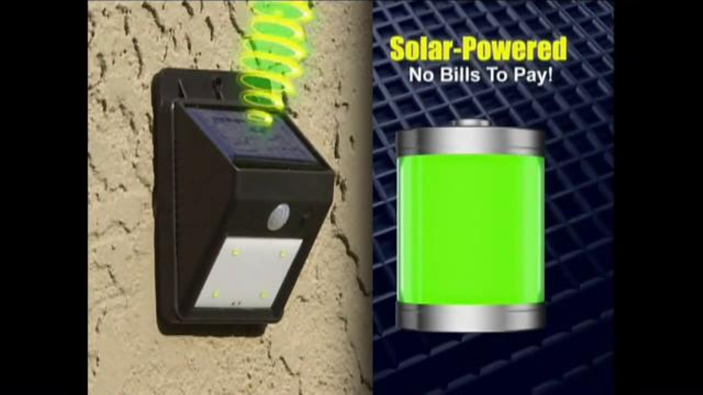 Ever Brite Tv Commercial Wireless Solar Powered Light