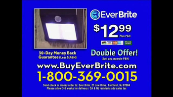Ever Brite TV Spot, 'Wireless Solar Powered Light' - Thumbnail 10