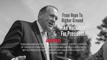Pursuing America's Greatness TV Spot, 'Steadfast' Featuring Mike Huckabee - Thumbnail 8