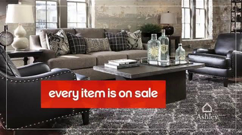 Ashley Homestore Red Tag Sale TV Spot, 'Dining Set & Queen Bed' - Thumbnail 2