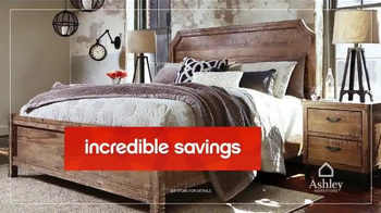Ashley Homestore Red Tag Sale TV Spot, 'Dining Set & Queen Bed' - Thumbnail 4