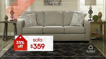 Ashley Homestore Red Tag Sale TV Spot, 'Dining Set & Queen Bed' - Thumbnail 5