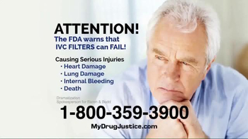 Baron & Budd, P.C. TV Spot, 'IVC Blood Clot Filters'