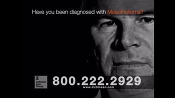 Johnson Law Group TV Spot, 'Mesothelioma Diagnosis' - Thumbnail 2