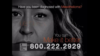 Johnson Law Group TV Spot, 'Mesothelioma Diagnosis' - Thumbnail 4