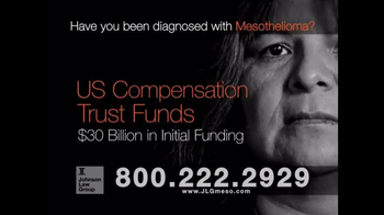 Johnson Law Group TV Spot, 'Mesothelioma Diagnosis' - Thumbnail 5