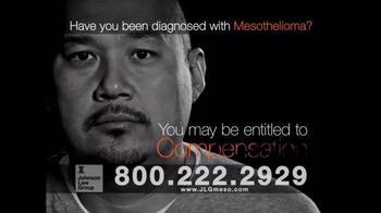 Johnson Law Group TV Spot, 'Mesothelioma Diagnosis' - Thumbnail 6