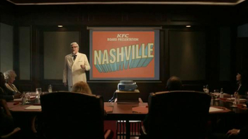 KFC Nashville Hot Chicken TV Spot, 'Boardroom' Featuring Norm Macdonald - Thumbnail 1