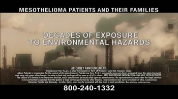 Pulaski & Middleman TV Spot, 'Mesothelioma Patients: Thousands of Workers' - Thumbnail 2