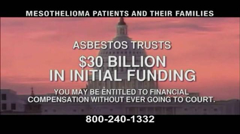 Pulaski & Middleman TV Spot, 'Mesothelioma Patients: Thousands of Workers' - Thumbnail 7