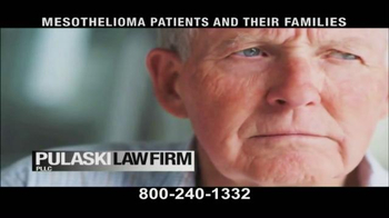 Pulaski & Middleman TV Spot, 'Mesothelioma Patients: Thousands of Workers' - Thumbnail 8