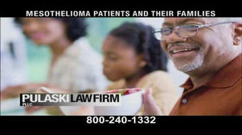 Pulaski & Middleman TV Spot, 'Mesothelioma Patients: Thousands of Workers' - Thumbnail 9