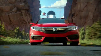 2016 Honda Civic TV Spot, 'The Dreamer: Fantasy' Song by Empire of the Sun - Thumbnail 4