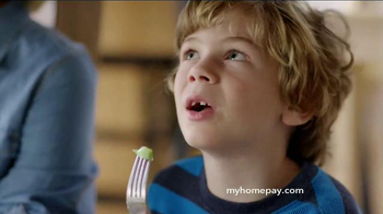 Care.com HomePay TV Spot, 'Eating Under the Table' - Thumbnail 2