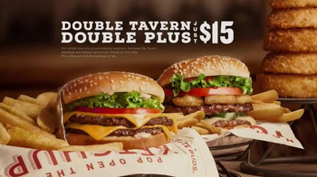 Red Robin Double Tavern Double Plus Deal TV Spot, 'Jump For Joy'