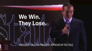 Cruz for President TV Spot, 'Win' - Thumbnail 10