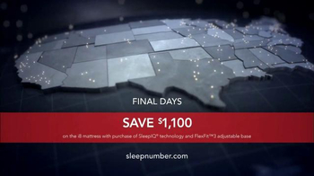 Sleep Number TV Spot, 'Sleep IQ Technology' - Thumbnail 8
