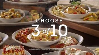 Olive Garden Create Your Own Tour of Italy TV Spot, 'Choose Three'