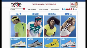 Tennis Express TV Spot, 'Nike January Pro Gear' - Thumbnail 1