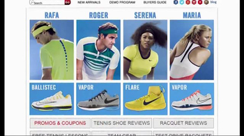Tennis Express TV Spot, 'Nike January Pro Gear' - Thumbnail 2