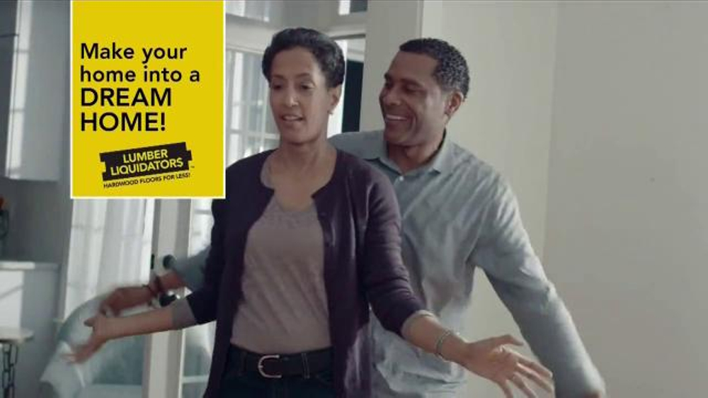 Lumber Liquidators TV Commercial, 'Dream Home Flooring'