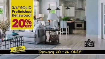 Lumber Liquidators TV Spot, 'Dream Home Flooring' - Thumbnail 5