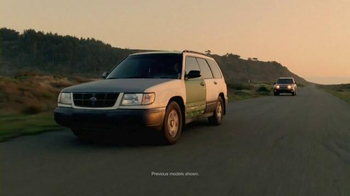 Subaru TV Spot, 'Proud to Earn Your Trust' - 11181 commercial airings