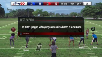 NFL Play 60 TV Spot, 'Videojuego' con Kiko Alonso [Spanish] - 117 commercial airings