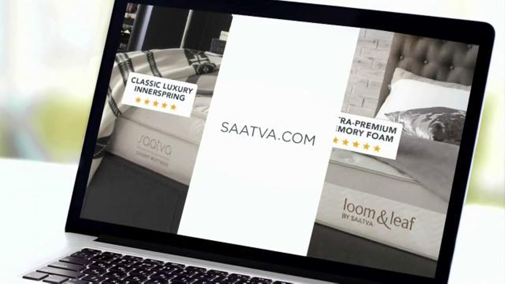 saatva mattress tv commercial for a great ispottv