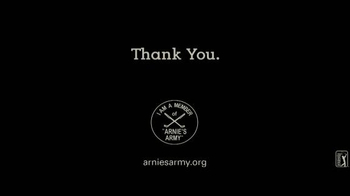 Arnie's Army Charitable Foundation TV Spot, 'Thank You' - Thumbnail 9
