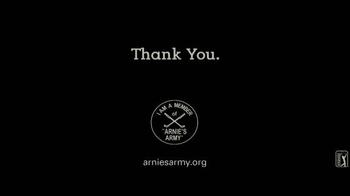 Arnie's Army Charitable Foundation TV Spot, 'Thank You' - Thumbnail 9