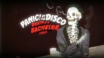 Panic! at the Disco Death of a Bachelor Tour TV Spot, 'Front of the Line'