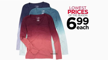 Kohl's Lowest Prices of the Season TV Spot, 'Jeans, Tees, Shoes & Towels' - Thumbnail 4