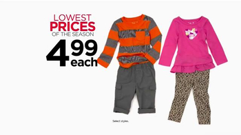 Kohl's Lowest Prices of the Season TV Spot, 'Jeans, Tees, Shoes & Towels' - Thumbnail 5
