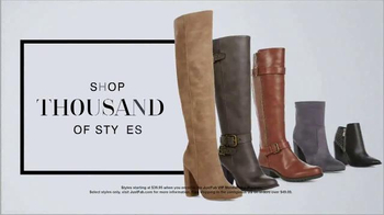 JustFab.com TV Spot, 'Not Sorry: Boots, Boots, Boots' - Thumbnail 5