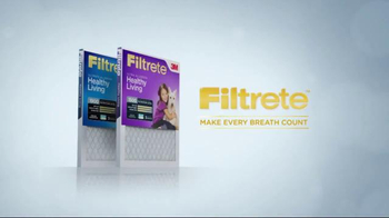 Filtrete Filters TV Spot, 'Make Every Breath Count' - Thumbnail 8