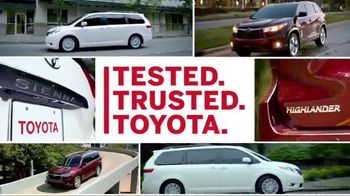 Toyota Columbus Day Lease Special TV Spot, 'Safety Is Key'