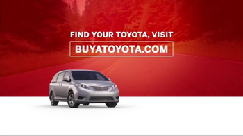 Toyota Columbus Day Lease Special TV Spot, 'Safety Is Key' - Thumbnail 10