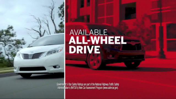 Toyota Columbus Day Lease Special TV Spot, 'Safety Is Key' - Thumbnail 5