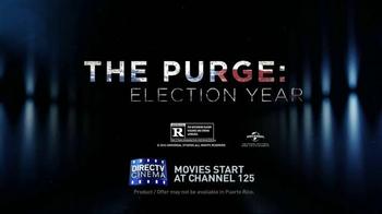 DIRECTV Cinema TV Spot, 'The Purge: Election Year' - Thumbnail 9