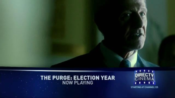 DIRECTV Cinema TV Spot, 'The Purge: Election Year' - Thumbnail 3