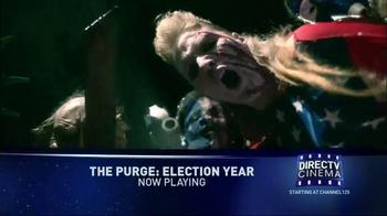 DIRECTV Cinema TV Spot, 'The Purge: Election Year'