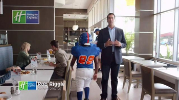 Holiday Inn Express TV Spot, 'Go Team' Featuring Rob Riggle - 560 commercial airings