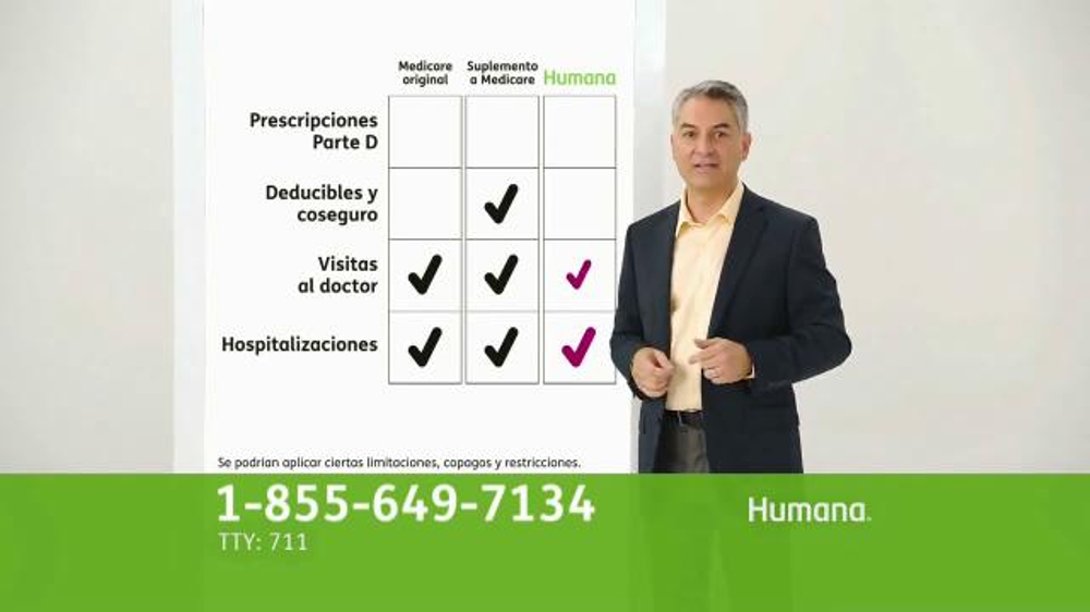 Humana All-in-One Medicare Advantage Plan TV Commercial ...
