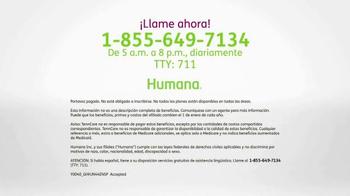 Humana All-in-One Medicare Advantage Plan TV Spot, 'Salud' [Spanish] - Thumbnail 9