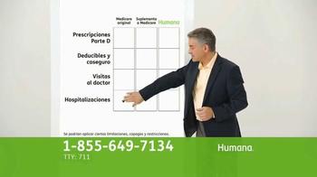 Humana All-in-One Medicare Advantage Plan TV Spot, 'Salud' [Spanish] - Thumbnail 3