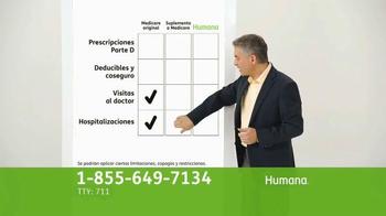 Humana All-in-One Medicare Advantage Plan TV Spot, 'Salud' [Spanish] - Thumbnail 4