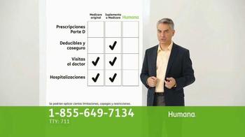 Humana All-in-One Medicare Advantage Plan TV Spot, 'Salud' [Spanish] - Thumbnail 5