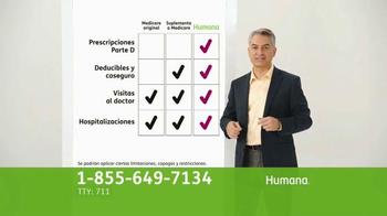 Humana All-in-One Medicare Advantage Plan TV Spot, 'Salud' [Spanish] - Thumbnail 7